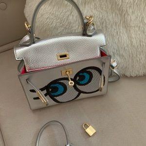 Handbags - Silver Cute Bag